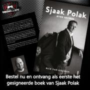 Boeken actie Sjaak Polak gesigneerd FC de rebellen Shop